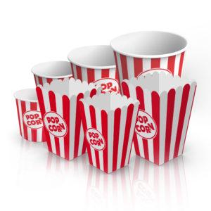 Ведра (стаканы) для попкорна